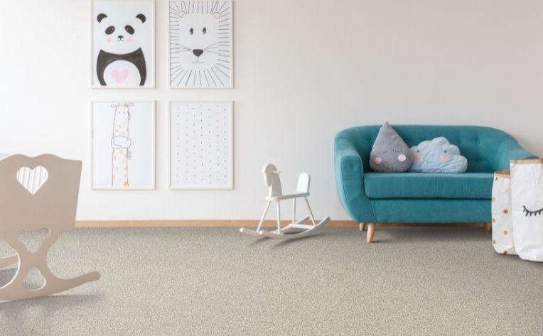 Carpet for a nursery
