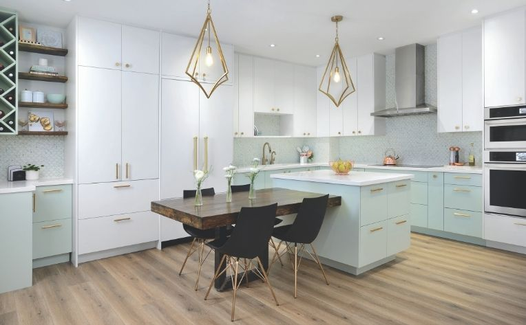 Dining Room Kitchen Design Example