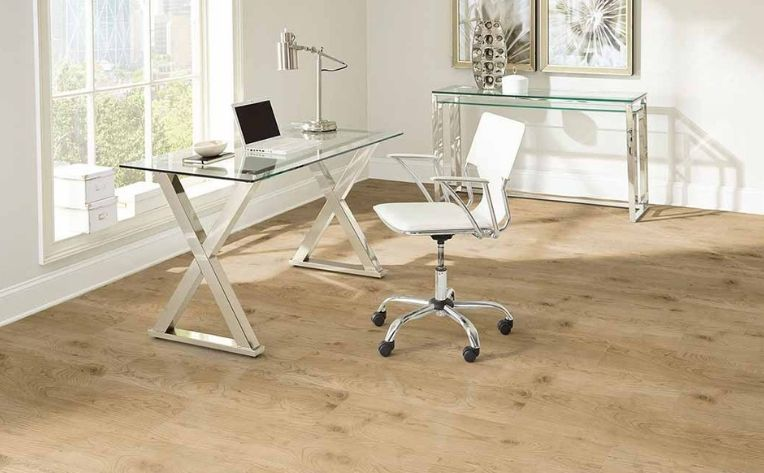 Home Office Luxury Vinyl Flooring