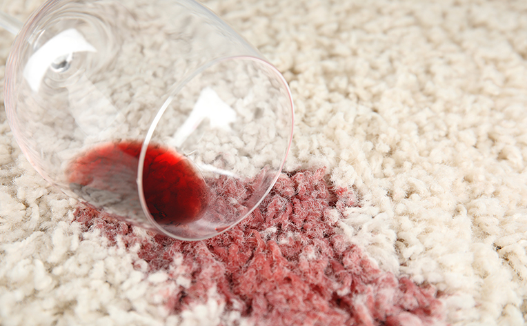 Red Wine Spill Carpet