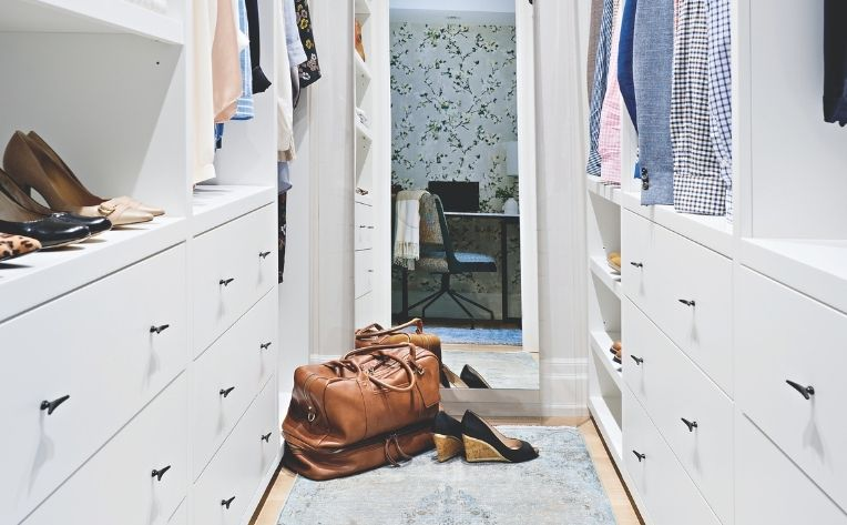 Simple Home Décor Bedroom Closet