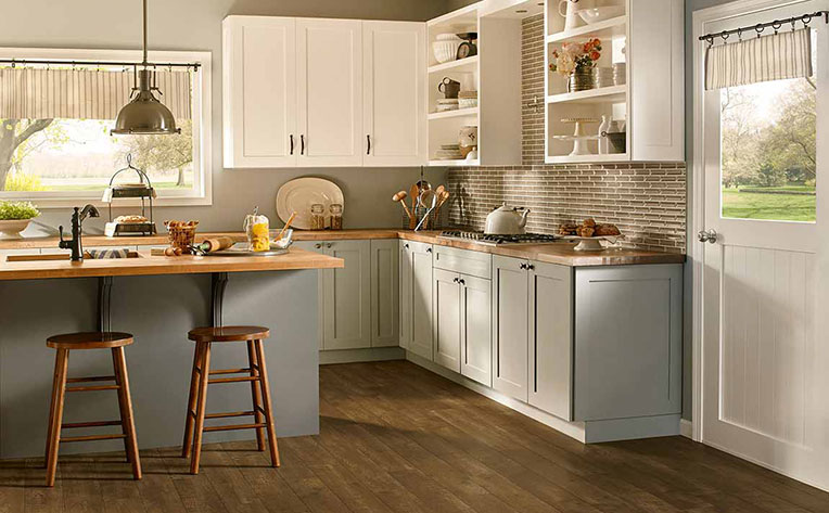Popular Kitchen Cabinet Colour Ideas Trends Flooring Canada