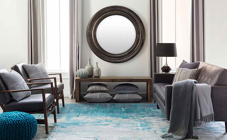 Blue Living Room Decorating Ideas Inspiration Flooring Canada